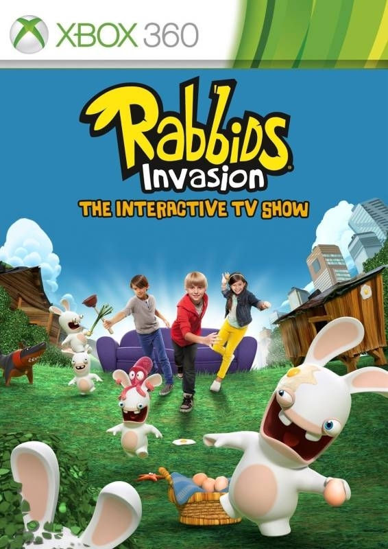 Rabbids Invasion: Interaktywny Program TV PL (Xbox 360)